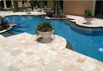 Brisbane Travertine Pavers at Ascot